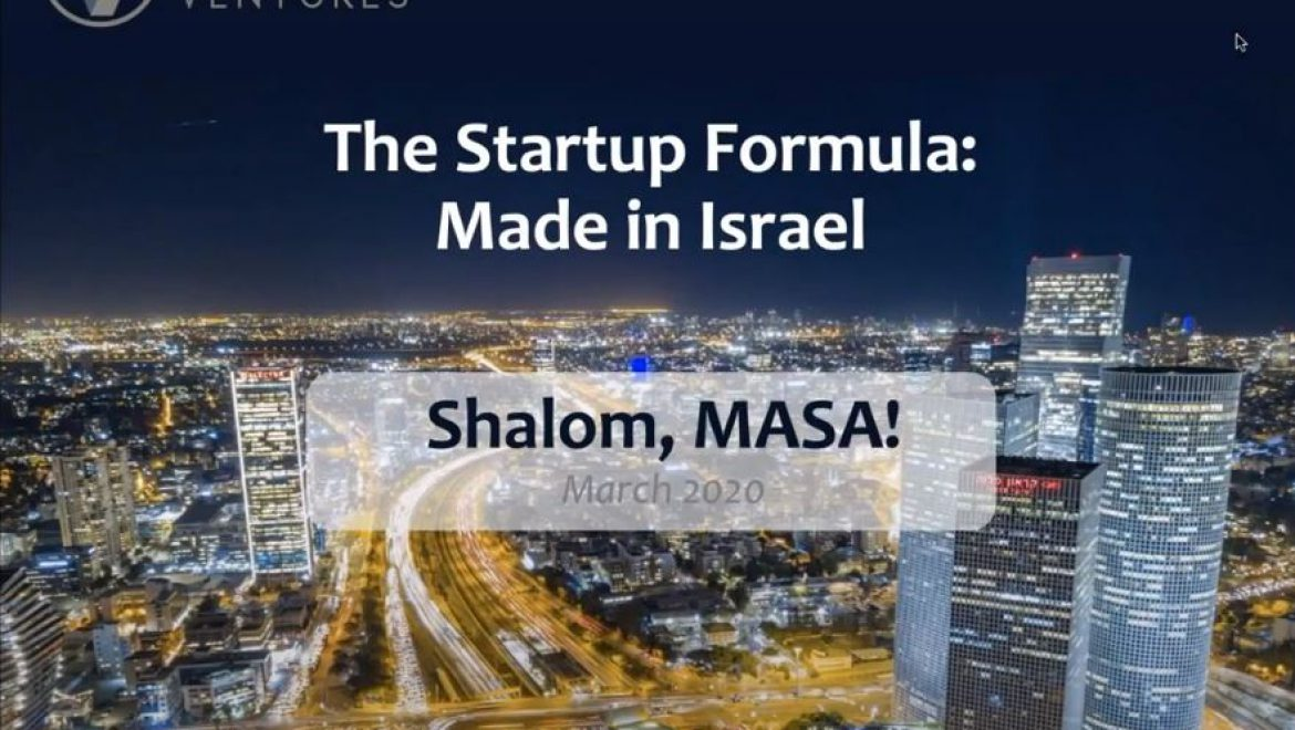 Shani Zansecu The start-up Formula_ Made in Israel