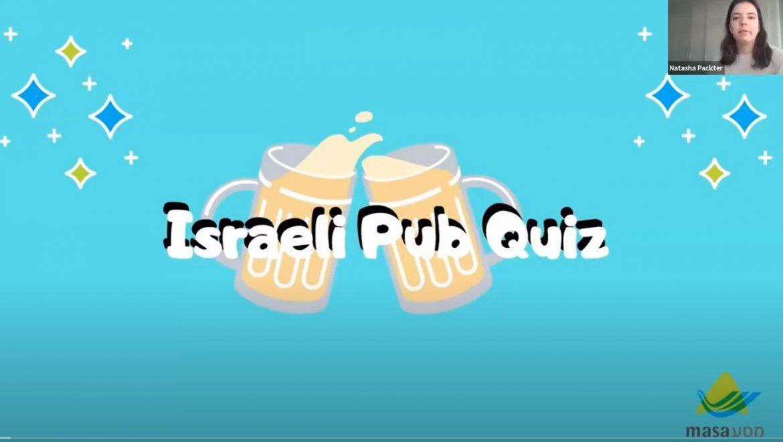 Israeli Themed Pub Quiz