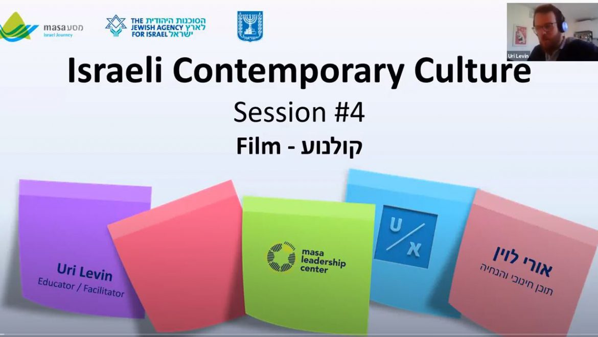 Israeli Contemporary Culture – Israeli Films