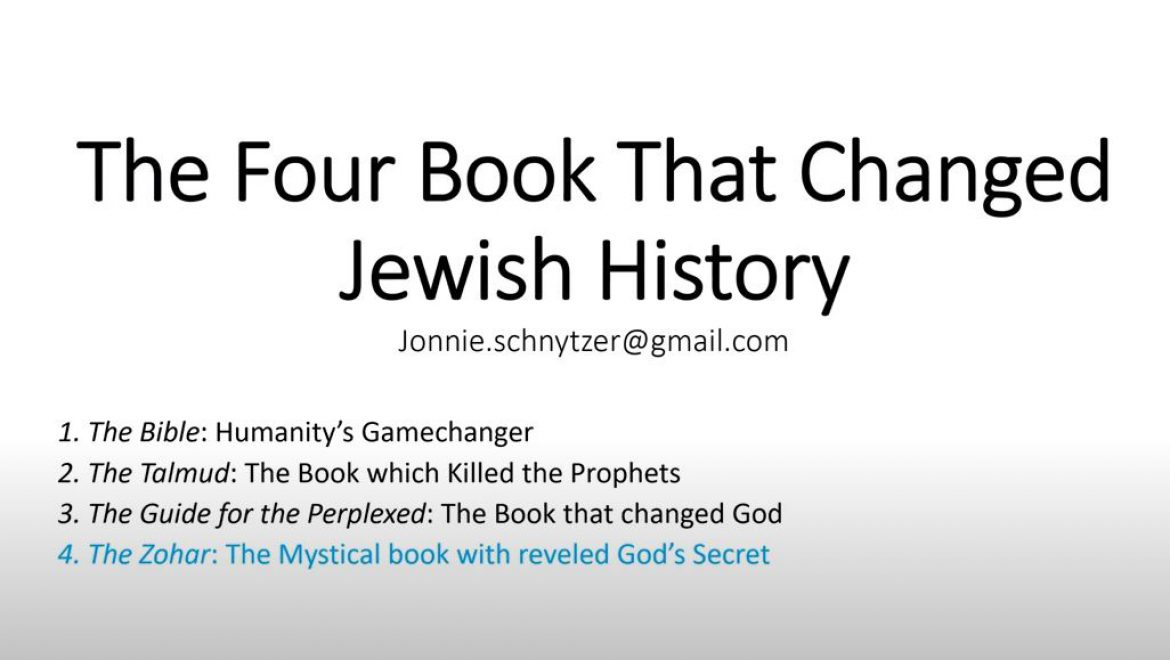 The Four Books that Changed Jewish History – The Zohar – The Mystical book with reveled God's Secret