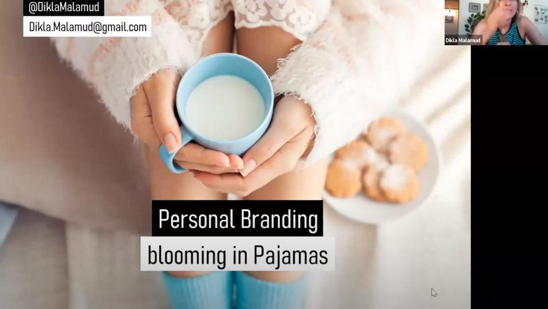 Personal Branding – Blooming in Pajamas #1