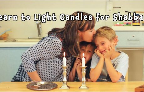 Lighting Candles: A 'How-to' for Kids
