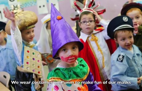 Drop Your Mask: Why We Dress Up on Purim