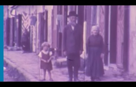 Rare Color Footage of Pre-Holocaust Jewish Life