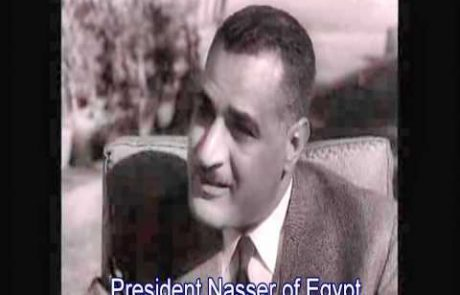 1956- Rare Interviews with Ben-Gurion, Nasser, and King Hussein from 1956