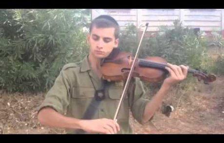 Gabriel Chouraki: Shalom Aleichem Melody on Violin