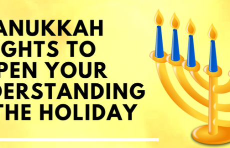 A Kabbalastic Infographic: 8 Hannukah Insights