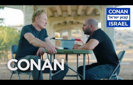 Conan Interrogates 'Fauda' Star