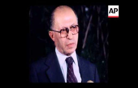 Begin on Shared Nobel Prize with Sadat