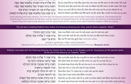 Kiddush FAQs