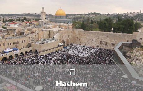 The Priestly Blessing at the Western Wall