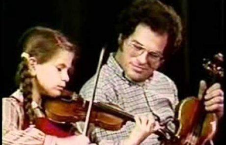 Itzhak Perlman: Shalom Aleichem on Violin