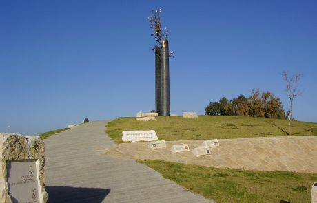The Tolerance Monument Near Armon Hanatziv