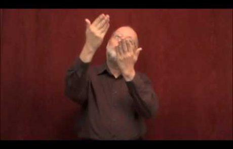 Shalom Aleichem in ASL