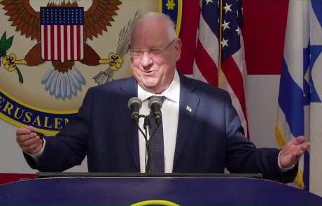 President Reuven Rivlin's Speech at Opening of US Embassy in Jerusalem