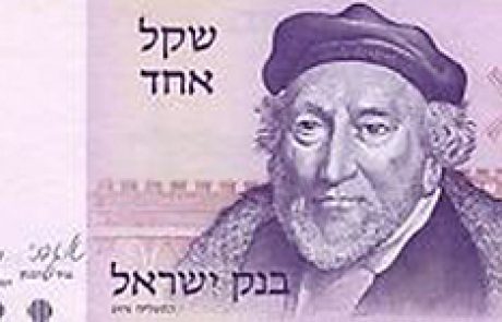 Sir Moses Montefiore & The Windmill on the Old Shekel Note
