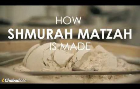 How Shmurah Matzah is Made
