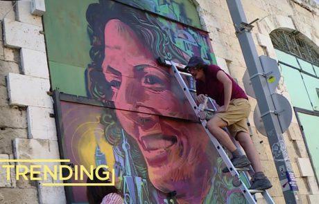 Solomon Souza: Israel's World Renowned Graffiti Artist
