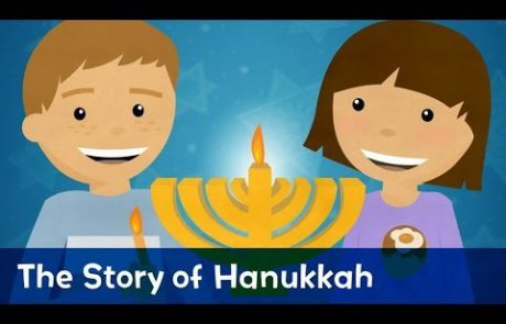 An Animated Story of Hannukah for Kids