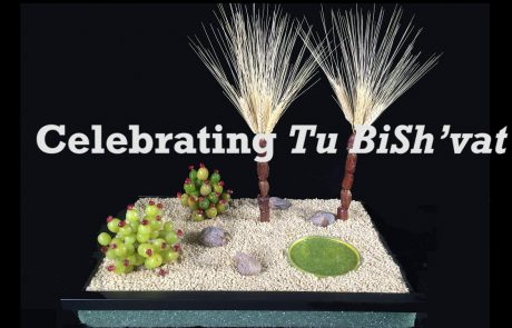 Celebrating Tu B'Shvat with Seven Species Food Art