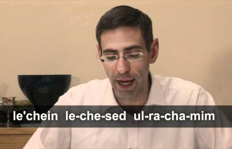 How to Sing Ashkenazi Grace After Meals for Shabbat (with transliteration)